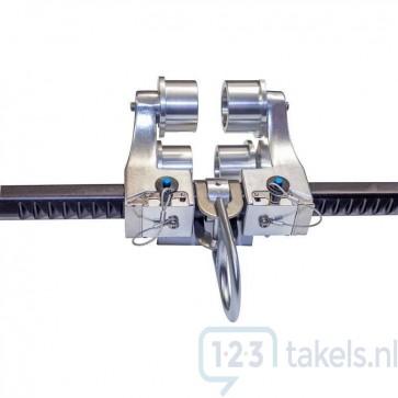 ELLERsafe aluminium balkenklem BA 3