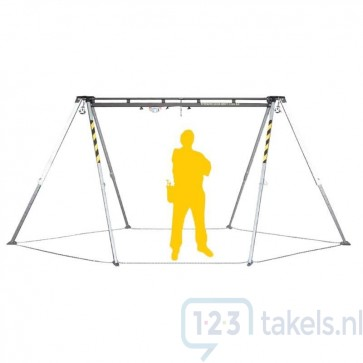 ELLERsafe Driepoot TM12-2 tbv Materiaal & Personen