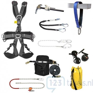 ELLERsafe Valbeveiliging Set - Rigging - Professional
