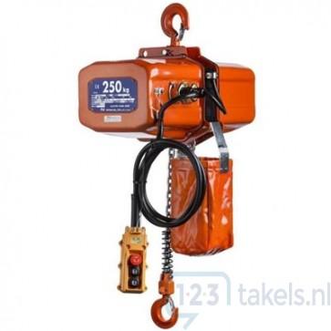 Nitchi ECT-4 elektrische kettingtakel 0.25 Ton