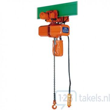 Elektrische takel 0,25 Ton met loopkat ECE-4 400V