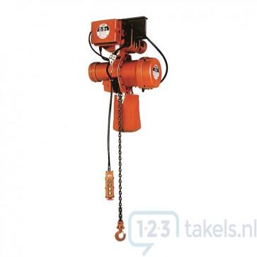 Nitchi MHE-5F Elektrische takel-loopkatcombinatie 400V