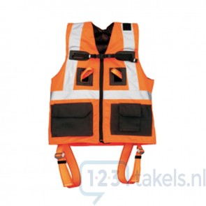 ELLERsafe Harnasgordel P-30 met VS 042 Vest - High Visibility