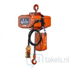 Nitchi EC-4 Elektrische takel 400V 2 Ton