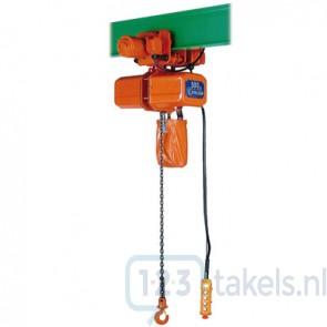 Elektrische takel 0,5 Ton met loopkat ECE-4 400V